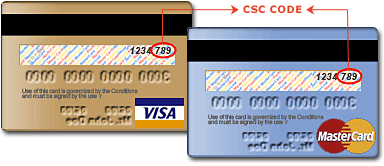 CSC 3 (Card Security Code) CVC or CVC2 (Card Verification Code) CID 4 (Card Identification Number) Why You Should Protect Your Security Code. Since your credit card security code is another tool to help protect your credit, be careful about sharing it over the phone and never share it in an email as this is not a secure method of communication.